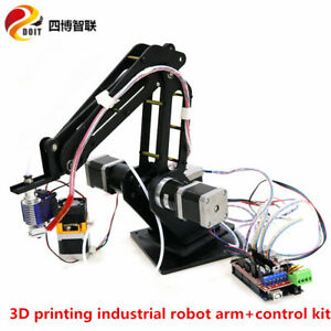 Cnc 3d Printing 3 axis Robot Arm With Control Kit Stepper Motor Laser Engraving