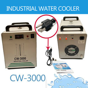 Cw 3000 Industrial Water Chiller 50w For Co2 Tube Laser Engraver Machine