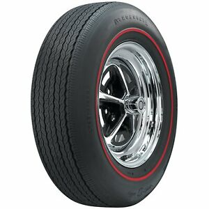 Coker Tire 62500 Firestone Wide Oval Tire Fr70 15 Redline Sidewall Radial
