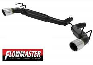 Flowmaster 817504 Outlaw Axle Back Exhaust System 2010 2013 Camaro Ss 6 2l