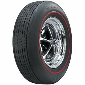 Coker Tire 62690 Firestone Wide Oval Tire Gr70 15 Redline Sidewall Radial