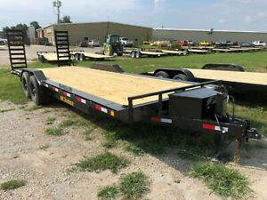 2021 22 2 Hd Flatbed Trailer With Dovetail
