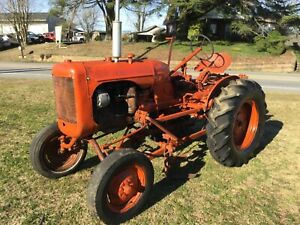 B Model Allis chalmers Cultivating Tractor