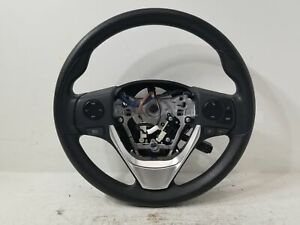 2018 Toyota Corolla Black Steering Wheel W Controls Oem Lkq