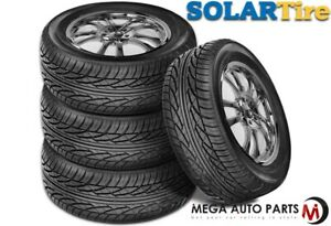 4 New Solar 4xs 225 60 17 99t Blk Sl All Season Performance Tires By Sumitomo