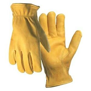 Wells Lamont 962 xl X large Gold Solution Drivers Gloves
