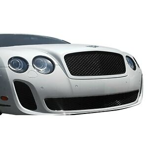 For Bentley Continental 09 11 Ss Style Fiberglass Front Bumper Cover Unpainted