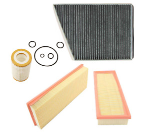 Engine Air Filter Oil Filter Ac Cabin Filter Carbon 3pcs Mercedes 211 E 219 Cls