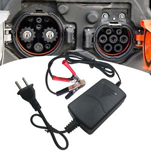 Battery Charger Maintainer 12v 1a Volt Trickle Rv Car Truck Motorcycle Mower Ch