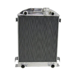 4 Row Aluminum Cooling Radiator For Ford Truck Flathead V8 Engine 193