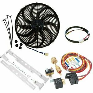 Champion Cooling Systems Ccfk14k2 Swept blade Electric Cooling Fan Kit Universal