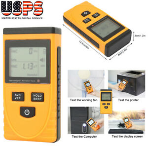 Digital Electromagnetic Radiation Detector Meter Dosimeter Tester Counter