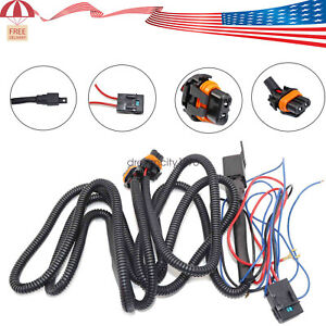 Led Fog Light Wiring Harness Kit For Chevy Silverado 2003 2006 2007 Classic