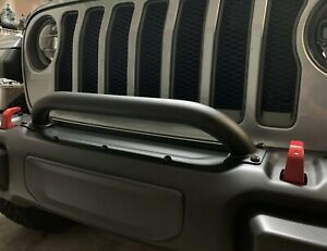 Mopar 82215351 Jeep Wrangler Grille And Winch Guard Fits Jl And Jt