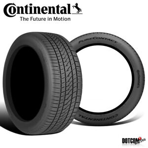 2 X New Continental Purecontact Ls 205 60r16 92v Tires
