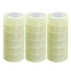 18 Roll Clear Carton Sealing Packing Shipping Tape 2 Mil 1 9 110 Yard 330 Ft