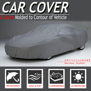 Fit Toyota Car Cover Waterproof Soft Cotton Inlay Breathable Layer Lining