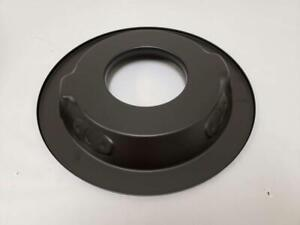 14 Black Round 1 1 4 Recessed Bottom Air Cleaner Base Carter Holley Rod