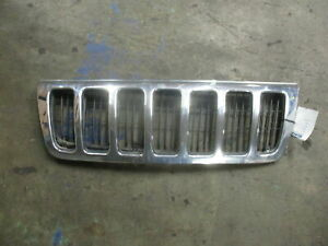 1999 2000 Jeep Grand Cherokee Chrome Grille Oem
