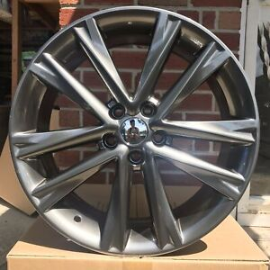 18 Gunmetal Metallic Face Wheels Lexus Rx F Sport Style Fits Gs Es Rx
