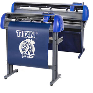 28 Uscutter Titan 3 Professional Sign Vinyl Cutter Plotter W scalpro 4 mac