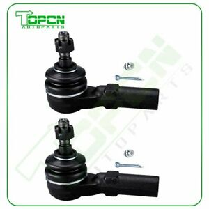 For 2005 2006 2007 2008 2009 2010 2014 Ford Mustang 2x Front Outer Tie Rod Ends