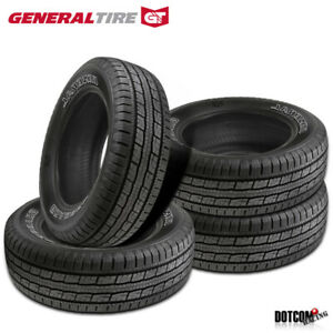 4 X New General Grabber Hts60 235 75r16 108s Highway All season Tire