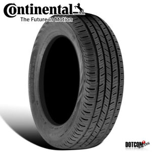 1 X New Continental Contiprocontact 225 50r17 93h All Season Grand Touring Tire
