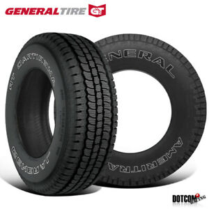 2 X New General Ameritrac Tr Lt235 80r17 120 117r All Terrain Light Truck Tire