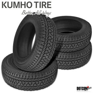 4 X New Kumho At51 Road Venture At Lt285 75r16 126 123r All Terrain Tire