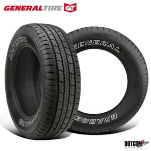 2 X New General Grabber Hts60 245 70r16 107t Highway All Season Tire