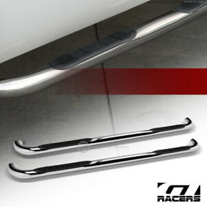 For 1999 2016 Ford F250 f350 Superduty Crew Cab 3 Side Step Nerf Bars Hd Chrome