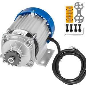 800w 36 V Dc Electric Motor F Bicycle Scooter Quad Go kart Diy Gear Reduction