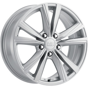 Set 4 15x6 5 40 5x114 3 Mb Wynter Silver Wheels Rims 15 Inch 62280