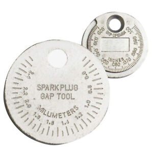 1pc Spark Plug Gapper Tool Gauge 0 02 0 10 Gap Opener Feeler
