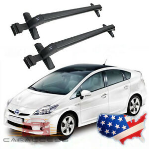 For Toyota Prius 2002 2016 2pcs Car Roof Rack Cross Bar Top Luggage Carrier