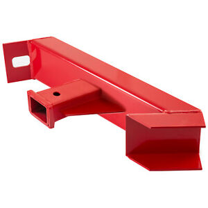 Trailer And Skid Steer Hitch Adapter 2 Durable Bolt Holes Attachment