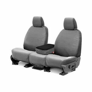 Covercraft Polycotton 1st Row Grey Front Seat Covers Fits 98 03 Ford Ranger