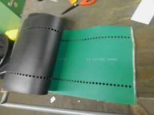 Habasit Clipper Laced Perforated Conveyor Belt 148 75 Long X 13 5 Wide X 050