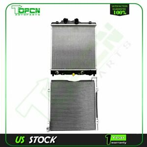 New Ac Condenser radiator For 98 00 Honda Civic 1 6l L4 Assembly