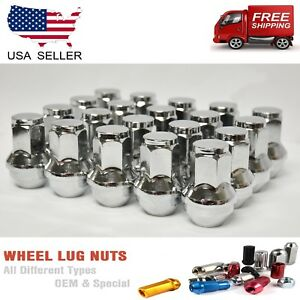 24pc 14x2 Chrome Ford F 150 Expedition Oem Factory Style Replacement Lug Nuts