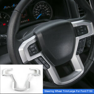 1pcs Car Steering Wheel Moulding Panel Cover Trim For Ford F150 15 Accessories