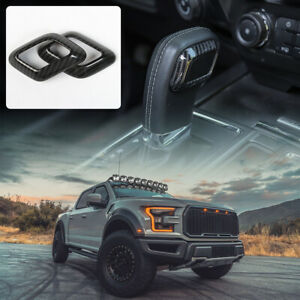 Inner Gear Shift Knob Grip Ring Decor Cover Trim For Ford F150 2015 Accessories