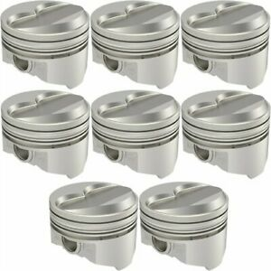 United Engine Machine Kb133 030 Pontiac 400 Ci Hypereutectic Pistons Flat Top 6