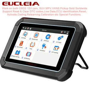Automotive Obd2 Scanner All Systems Abs Bleeding Srs Ecu Coding Diagnostic Tool