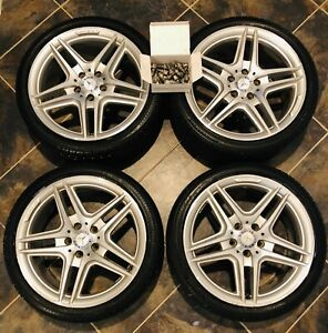 Mercedes Benz Amg C Class Factory Oem 18 Wheels Rims Rft Tires Stagger 4