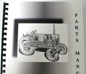 International Farmall 606 G d Parts Manual