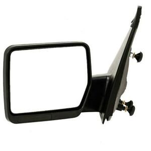 Left Driver Side For 04 2014 Ford F150 Pickup Truck Textured Manual View Mirror