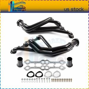 Header Exhaust For 84 91 C K 5 0 5 7 Sbc Stainless Racing Manifold Long Tube
