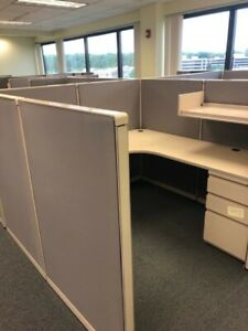 Cubicle partition System By Steelcase 900 Model 6ft X 6ft X 53 h